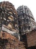 Rovine antiche di Sukhothai immagine stock