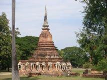 Rovine antiche di Sukhothai immagini stock