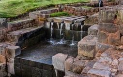 Rovine antiche di Tipon in Cusco Perù immagini stock libere da diritti