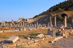 Rovine antiche in Ephesus Turchia Immagine Stock Libera da Diritti