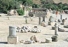 Rovine a Carthage Fotografia Stock Libera da Diritti
