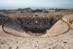 Rovine del amphitheater antico immagini stock libere da diritti