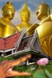 Rovine del Buddha. Fotografie Stock