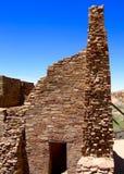Rovine del canyon di Chaco Fotografie Stock Libere da Diritti