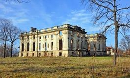 Rovine del castello Immagini Stock