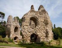 Rovine del castello Fotografia Stock
