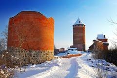 Rovine del castello Fotografie Stock Libere da Diritti