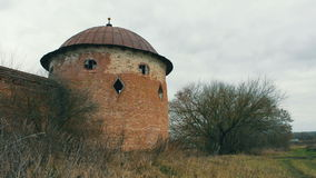 Rovine del castello 4 stock footage