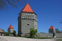 Rovine del castello antico Immagini Stock Libere da Diritti