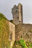 Rovine del castello in Askeaton Fotografia Stock Libera da Diritti