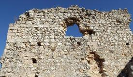 Rovine del castello Bechin Milas Turchia Immagine Stock Libera da Diritti