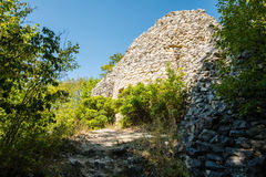 Rovine del castello in camice sveve Fotografia Stock