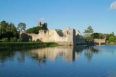 Rovine del castello di Adare Immagini Stock Libere da Diritti