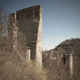 Rovine del castello di Cornstejn immagini stock