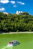 Rovine del castello di Cornstejn Fotografie Stock