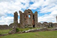 Rovine del castello di Crom Fotografia Stock Libera da Diritti