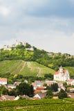 Rovine del castello di Falkenstein Immagini Stock Libere da Diritti
