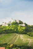 Rovine del castello di Falkenstein Immagine Stock