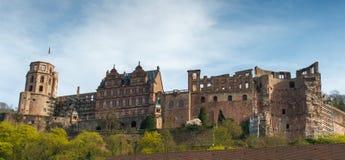 Rovine del castello di Heidelberg Immagini Stock