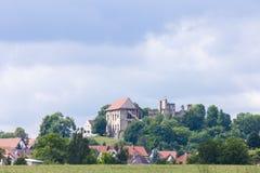 Rovine del castello di Kosumberk Fotografia Stock Libera da Diritti