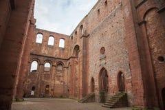 Rovine del castello di Limburgo Fotografie Stock Libere da Diritti