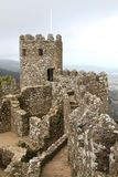 Rovine del castello di moresco Immagine Stock Libera da Diritti
