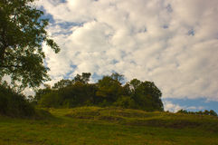 Rovine del castello di Neu-Schauenburg, Frenkendorf Fotografia Stock Libera da Diritti