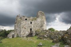 Rovine del castello di Primda Fotografia Stock Libera da Diritti