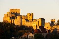 Rovine del castello di Rabi Fotografia Stock