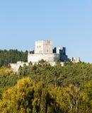 Rovine del castello di Rabi Fotografia Stock Libera da Diritti