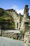 Rovine del castello di Tintagel, Cornovaglia Fotografia Stock Libera da Diritti