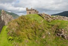 Rovine del castello di Urquhart - Scozia Fotografia Stock