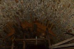 Rovine del castello di Vinné Immagine Stock Libera da Diritti