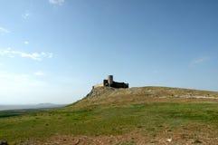 Rovine del castello Enisala 2 Fotografia Stock
