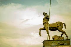 Rovine del Ceuntar a Pompei fotografia stock libera da diritti