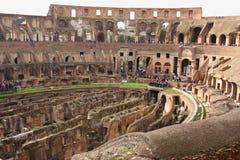 Rovine del Colosseum, Roma, Italia Fotografia Stock