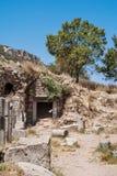 Rovine del Ephesus antico Selcuk nella provincia di Smirne La Turchia Immagini Stock Libere da Diritti