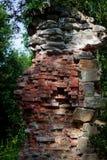 Rovine del fonditore del ferro di Tulmozersky Fotografia Stock