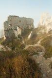 Rovine del hrad plavecky del castello Fotografia Stock Libera da Diritti