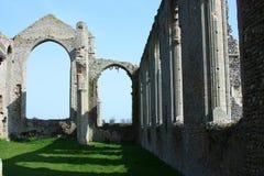 Rovine del monastero Immagine Stock Libera da Diritti
