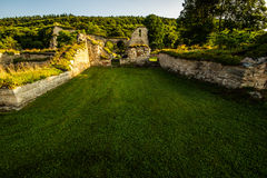 Rovine del monastero Fotografie Stock