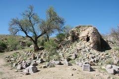 Rovine del monastero di Shatinavank Immagine Stock