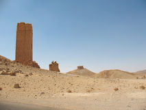 Rovine del Palmyra antico immagini stock libere da diritti
