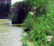 Rovine del ponte Fotografia Stock Libera da Diritti