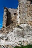 Rovine del Rocca Aldobrandesca in Suvereto, Toscana, Italia fotografia stock