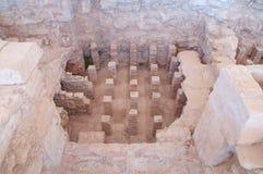 Rovine del santuario di Apollo Hylates immagine stock