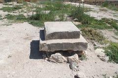 Rovine del telefono Lachish fotografie stock libere da diritti