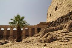 Rovine del tempiale di Karnak Immagini Stock Libere da Diritti