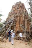 Rovine del tempio di Lolei Immagini Stock Libere da Diritti