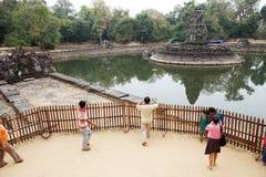 Rovine del tempio di Neak Pean Fotografie Stock Libere da Diritti